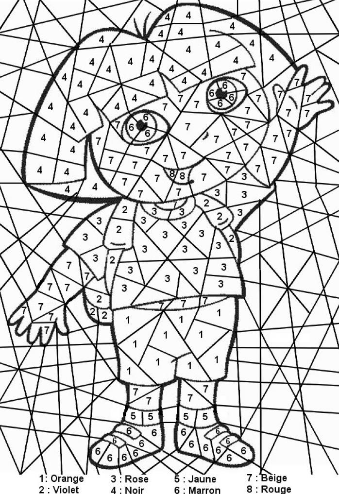 Coloriages imprimer chiffres et formes num ro 52970 - Coloriage des formes ...