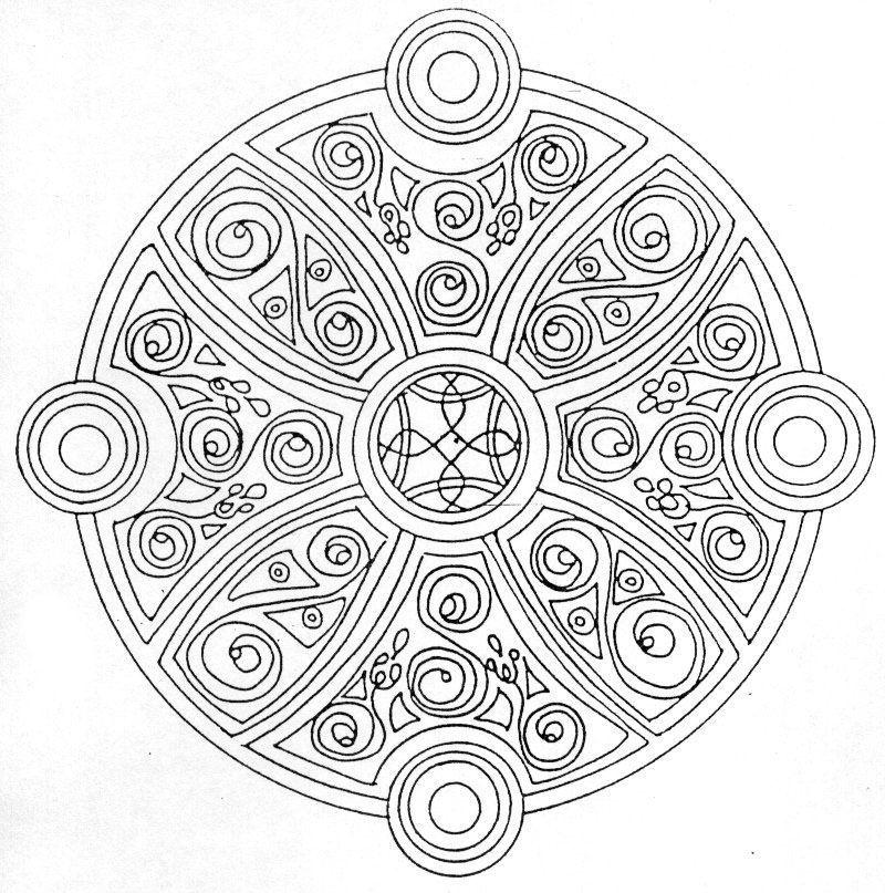 Coloriages à imprimer : Chiffres et formes, numéro : 94