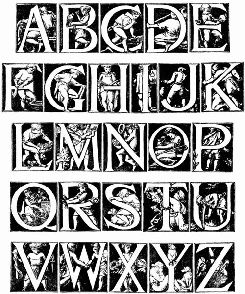 Coloriages à imprimer : Alphabet, numéro : 246950