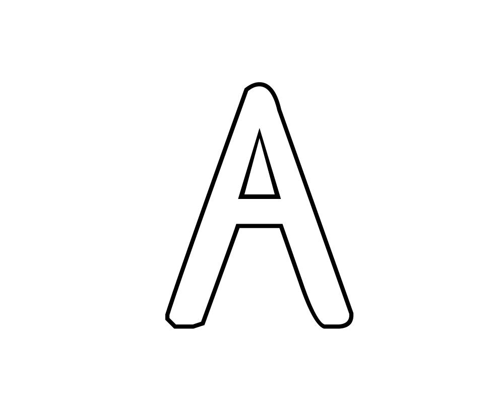 Coloriages imprimer alphabet num ro 66688 - Lettres a imprimer ...