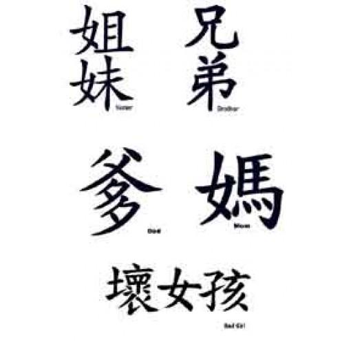 idee tatouage lettre w en chinois tatouage. Black Bedroom Furniture Sets. Home Design Ideas