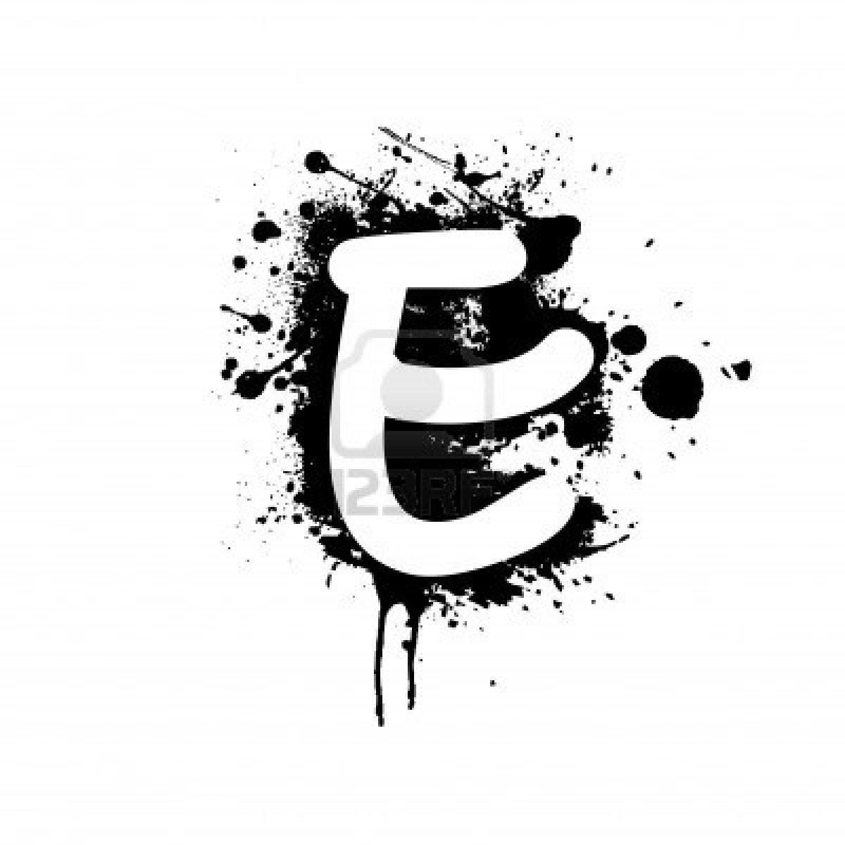Z letter graffiti