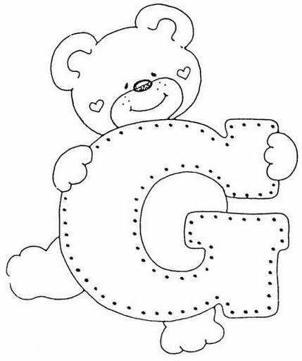 Coloriages à imprimer : Lettre g, numéro : 419501