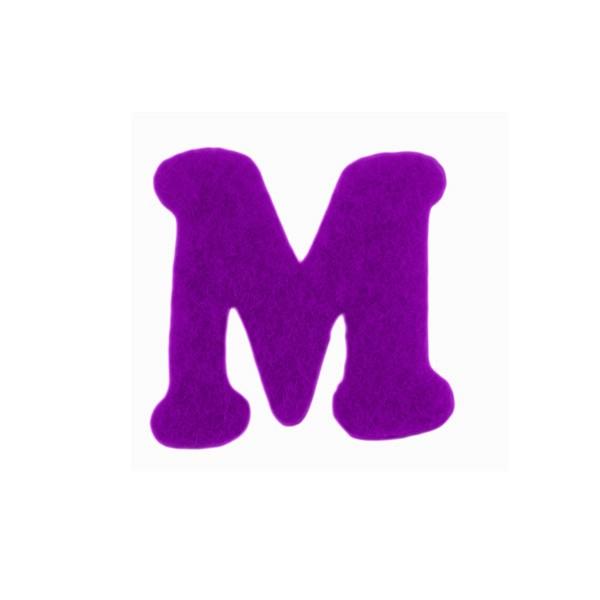 image de lettre m