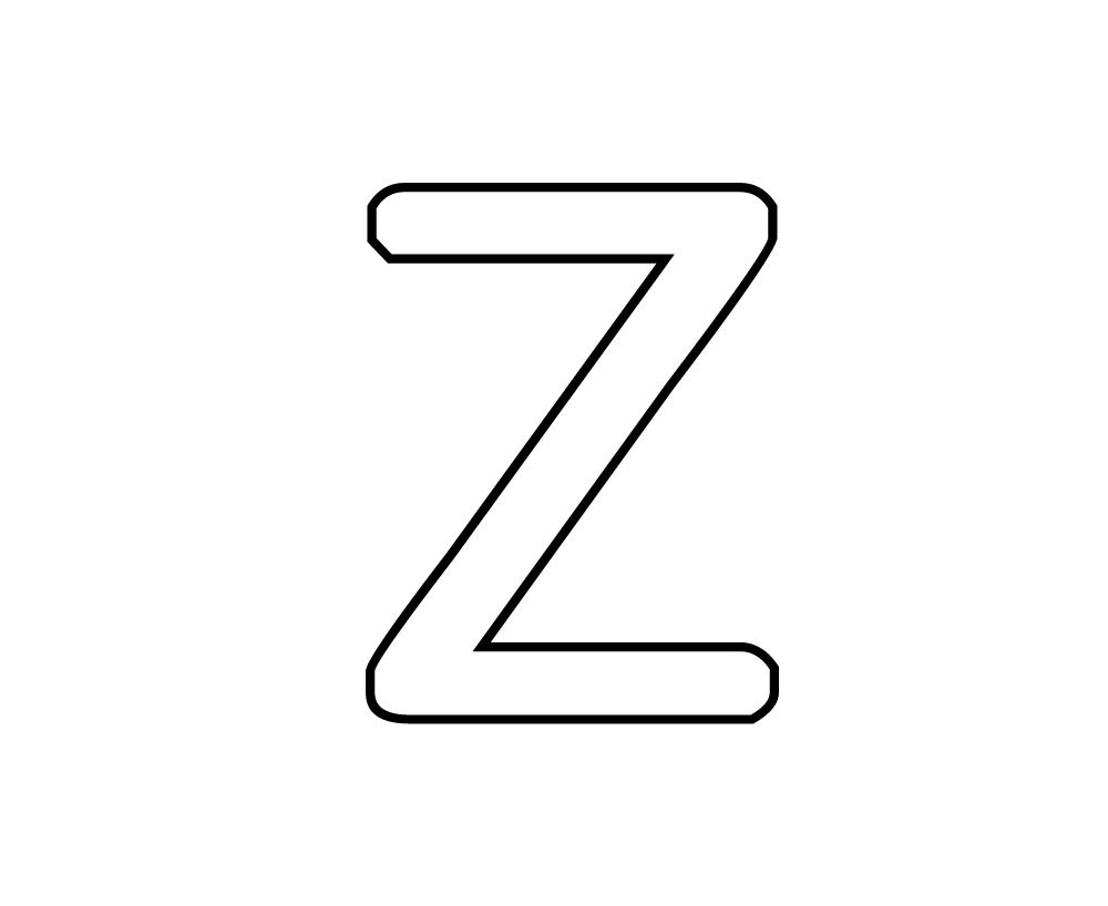 Coloriages imprimer lettre z num ro 67239 - Lettres a imprimer ...
