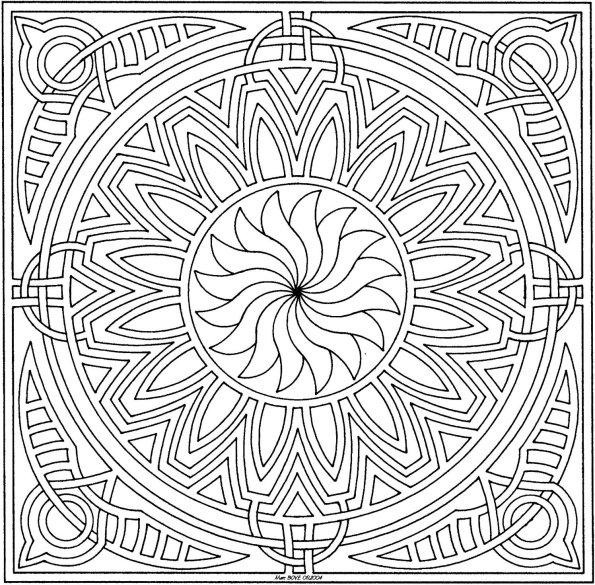 Coloriages à imprimer : Carré, numéro : 17304