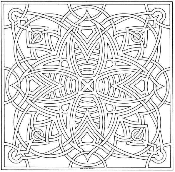 Coloriages à imprimer : Carré, numéro : 17310