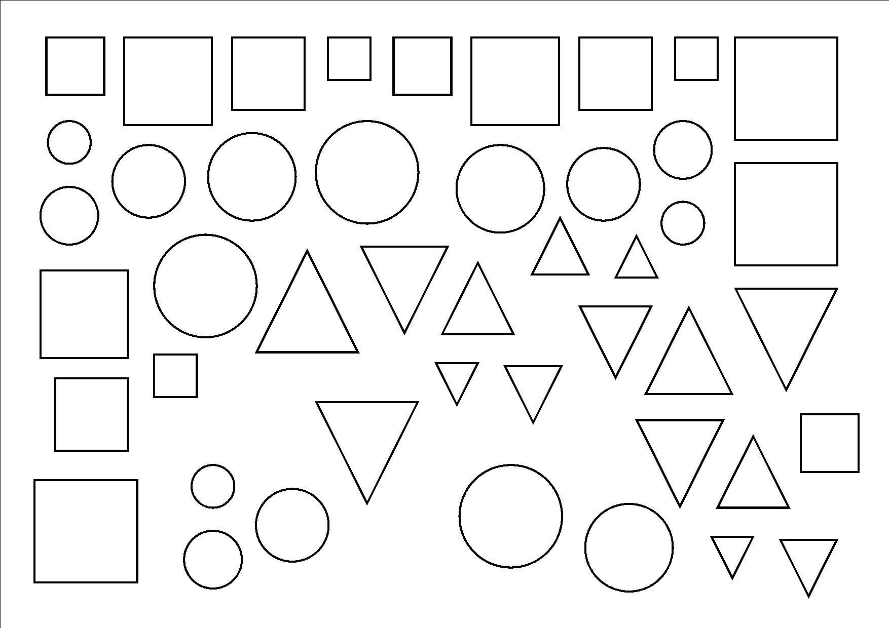 Coloriages imprimer carr num ro 676705 - Coloriage des formes geometriques ...