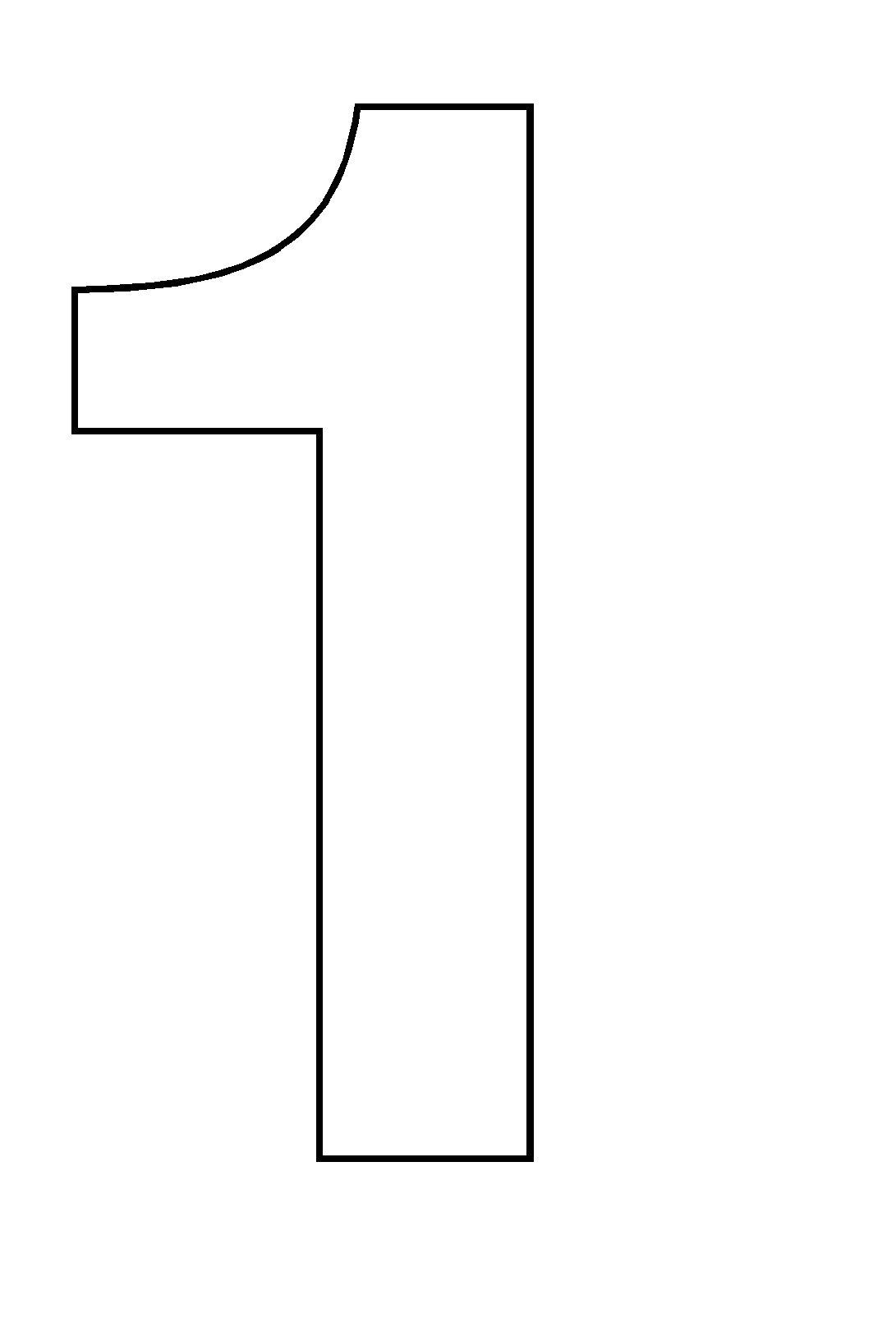 Coloriages imprimer chiffre deux num ro 2825 - Chiffre a imprimer ...