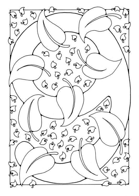 Coloriages à imprimer : Chiffre quatre, numéro : 27277
