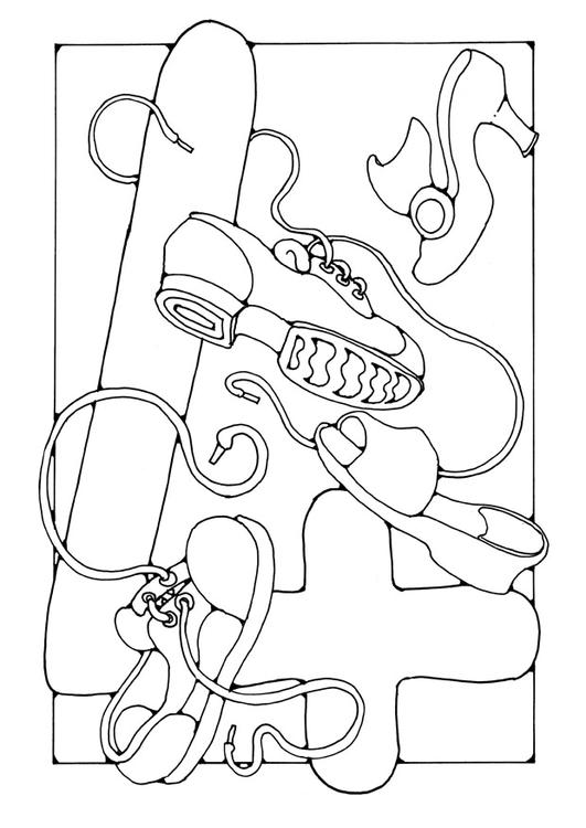 Coloriages à imprimer : Chiffre quatre, numéro : 2822
