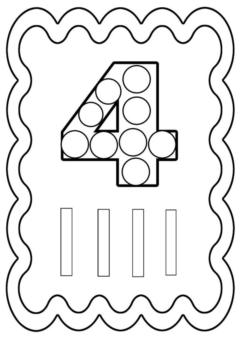Coloriages imprimer chiffre quatre num ro 755268 - Coloriage avec des chiffres ...