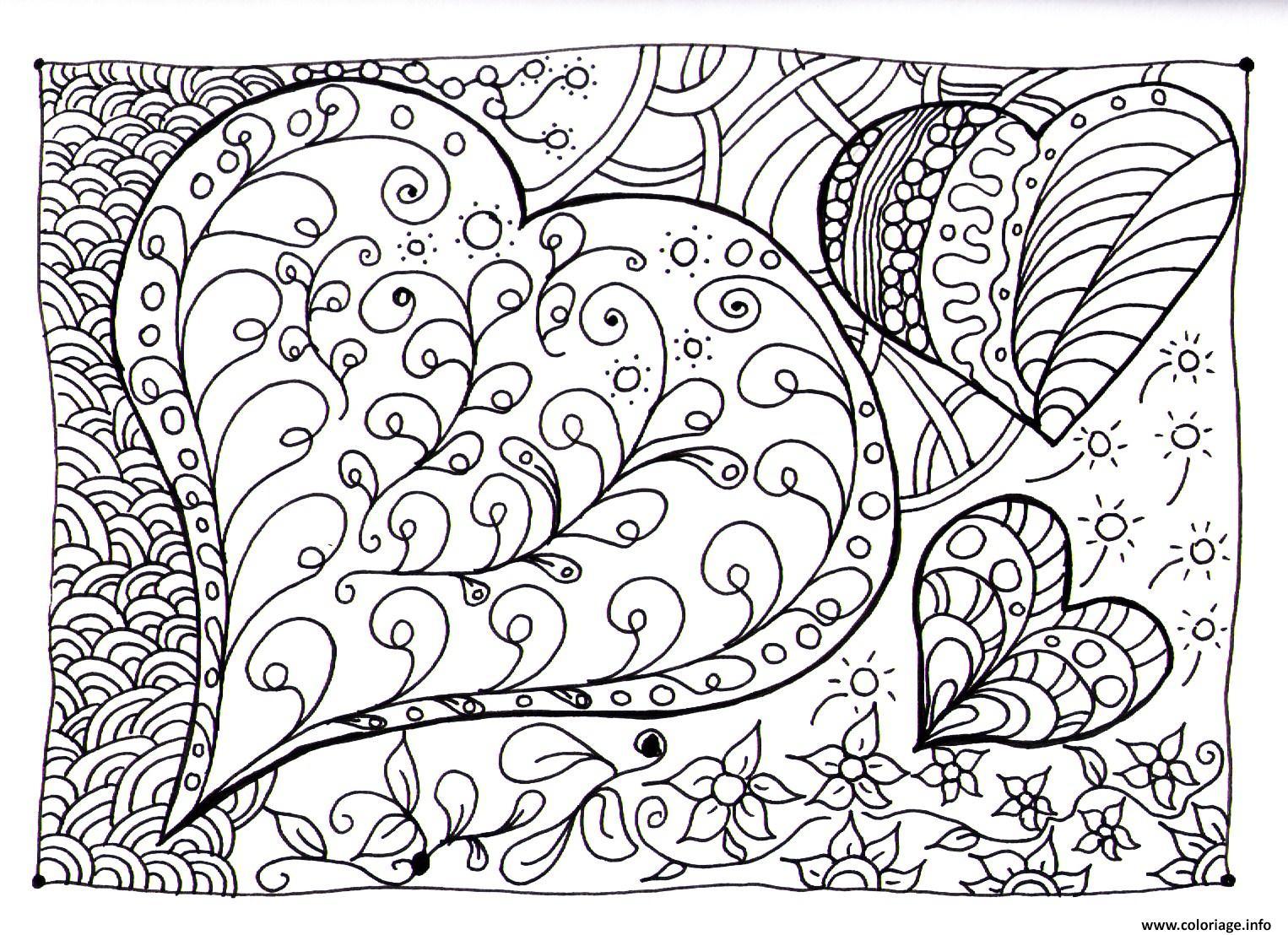 Coloriages à imprimer : Coeur, numéro : 17819cec