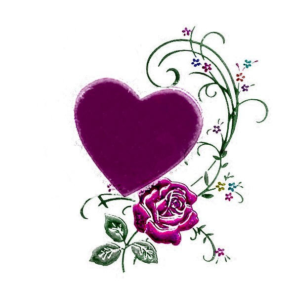 Dessins en couleurs imprimer coeur num ro 259768 - Photo de fleur a imprimer ...