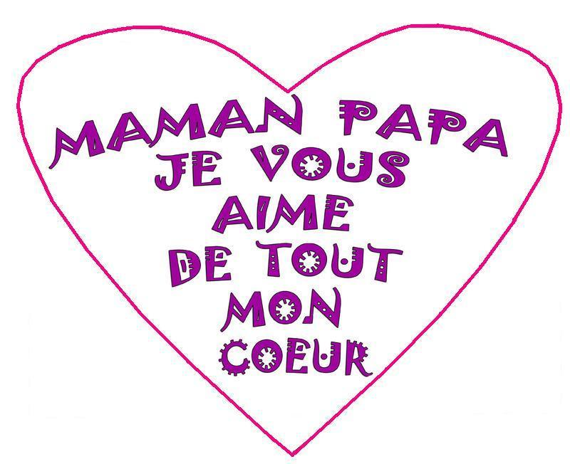 Dessins en couleurs imprimer coeur num ro 336897 - Dessin pour maman et papa ...