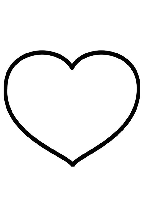Coloriages imprimer coeur num ro 3627 - Coeur coloriage ...