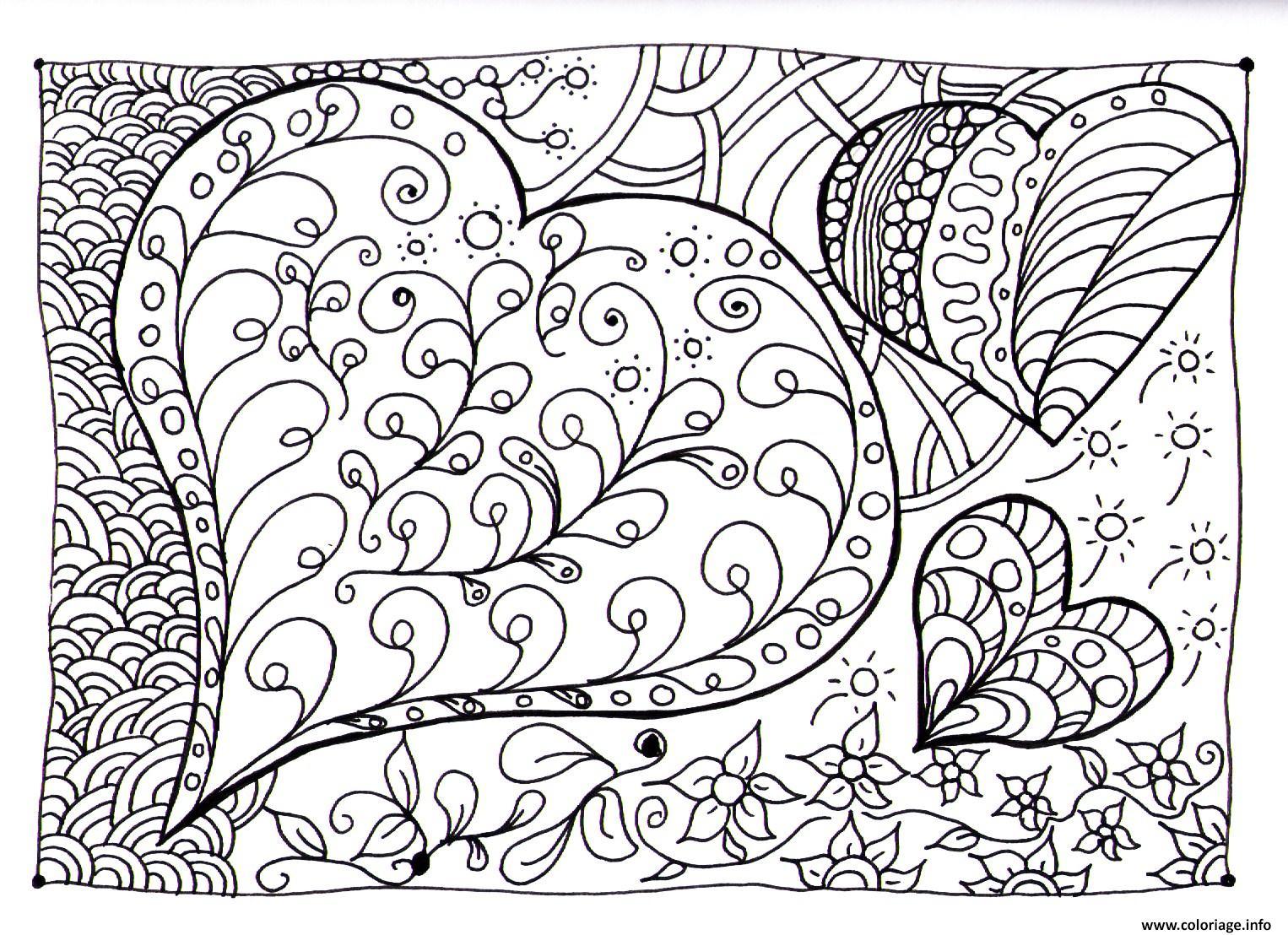 Coloriages à imprimer : Coeur, numéro : 3e17ed85