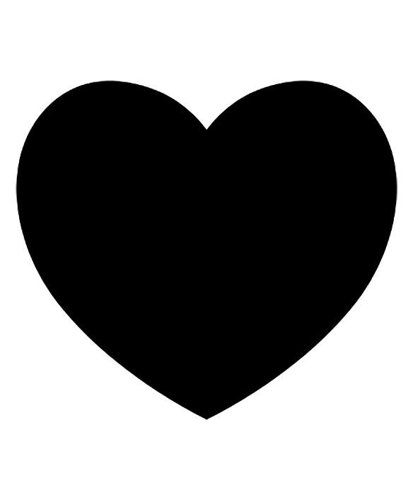 Coloriages à imprimer : Coeur, numéro : 601659
