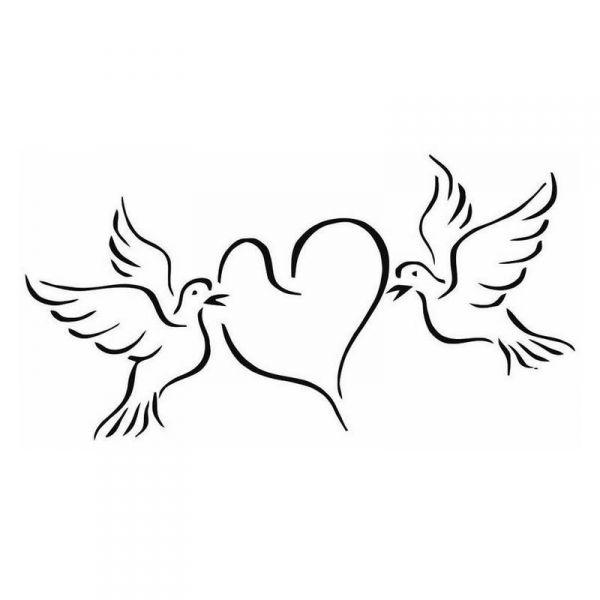 Coloriages imprimer coeur num ro 627361 - Comment dessiner une colombe ...