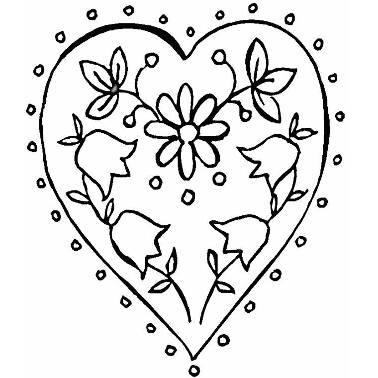 Coloriages à imprimer : Coeur, numéro : 7314