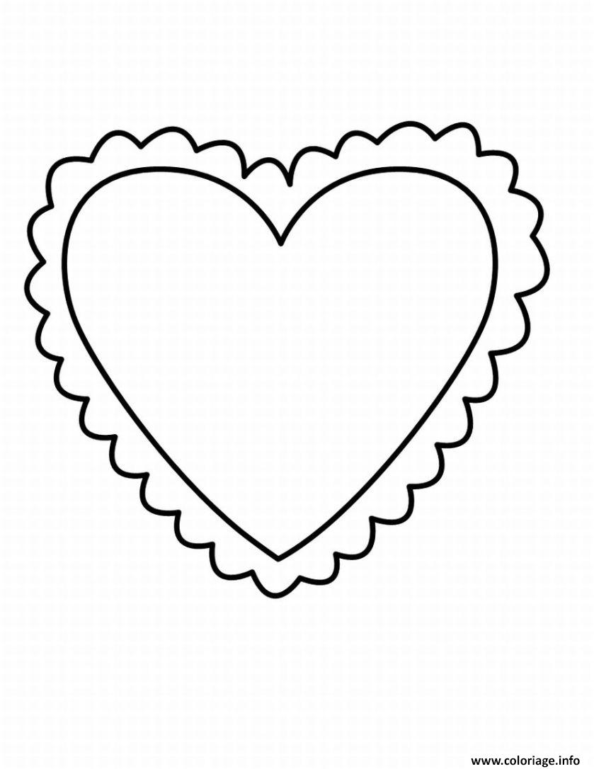 Coloriages à imprimer : Coeur, numéro : d882bde7