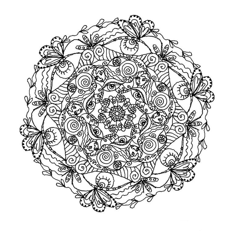 Coloriages à imprimer : Coloriages magiques, numéro : 27873