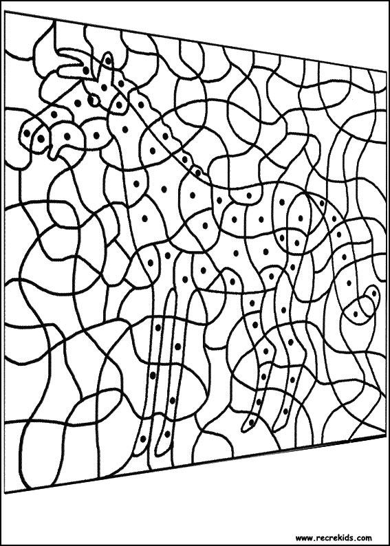 Coloriages à imprimer : Coloriages magiques, numéro : 576039