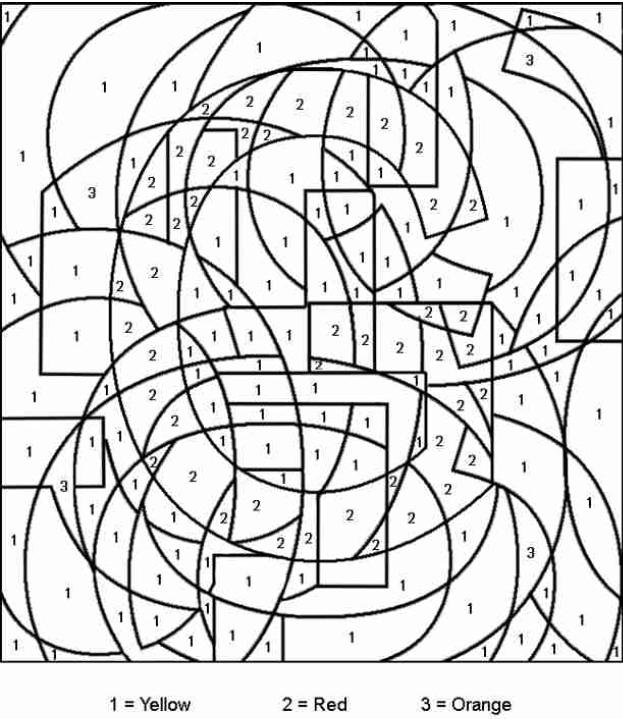 Coloriages à imprimer : Coloriages magiques, numéro : 576042