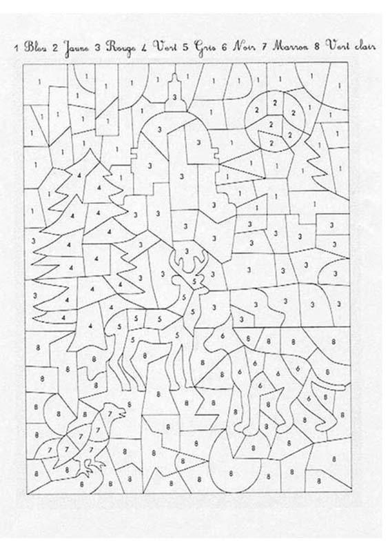 Coloriages 224 Imprimer Coloriages Magiques Num 233 Ro 576047