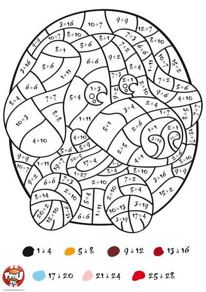 imprimer le dessin en couleurs coloriages magiques numro 579900
