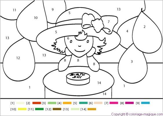 Dessin en couleurs imprimer chiffres et formes for Peur du chiffre 13