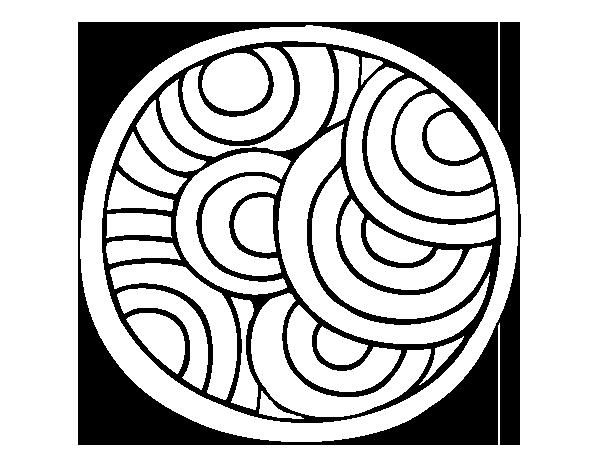 Coloriages à imprimer : Rond, numéro : 233640
