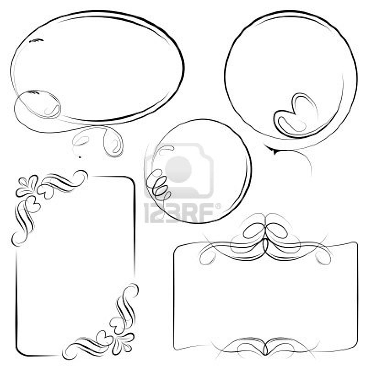 sketchnote cadres 2 frames more sketchnoting art sketch coloring page. Black Bedroom Furniture Sets. Home Design Ideas