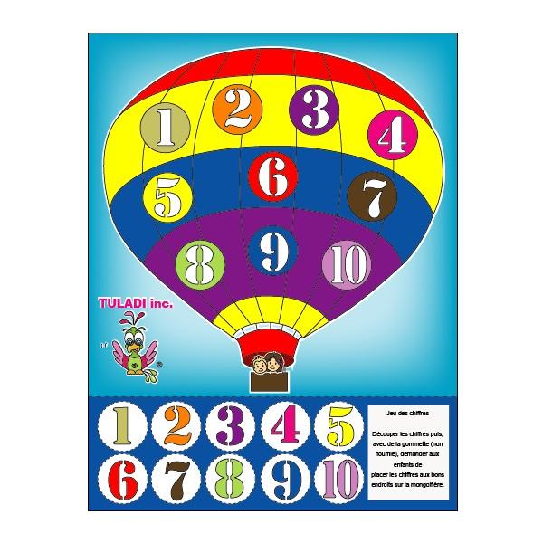 Dessins en couleurs à imprimer : Tous les chiffres, numéro : 597820
