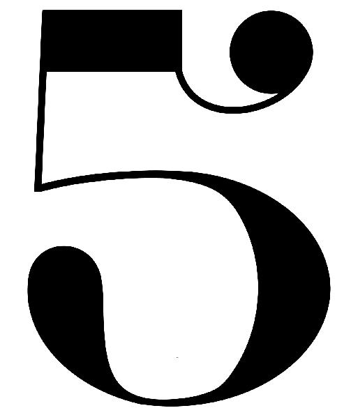 Coloriages imprimer chiffre 5 num ro 394717 - Chiffre a imprimer ...