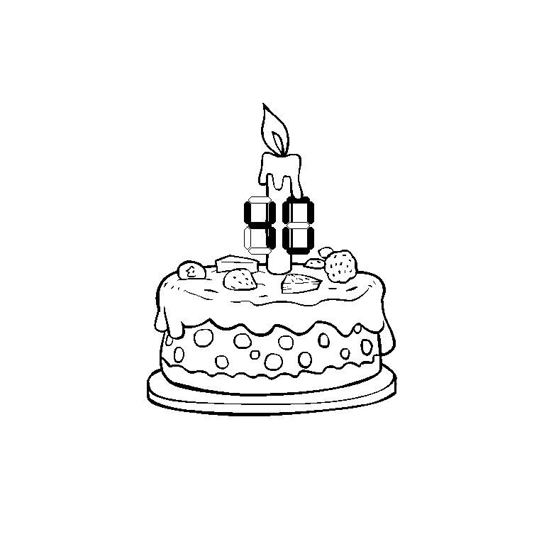 imprimer le coloriage evenements anniversaire numro 29343