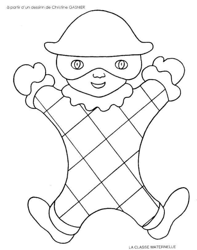 Coloriage imprimer ev nements carnaval num ro 220889 for Puzzle a colorier gratuit