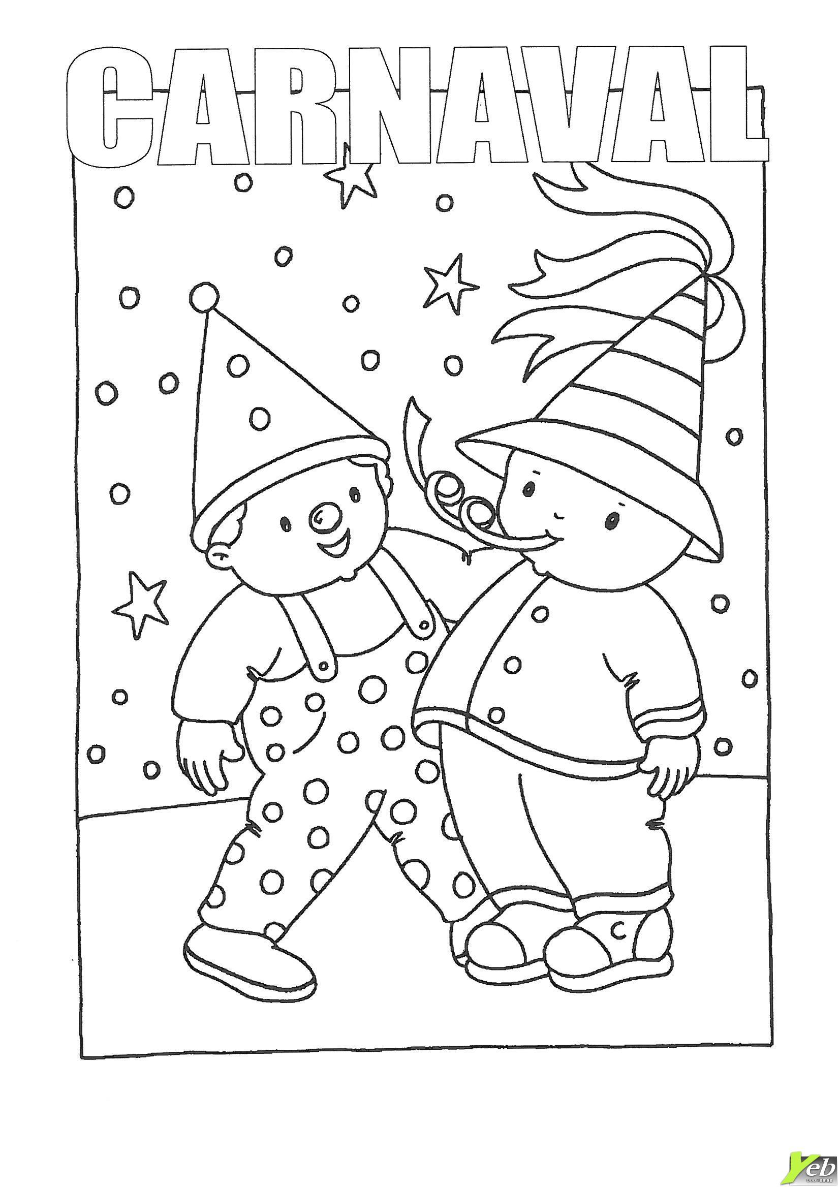 Coloriages à imprimer : Carnaval, numéro : 26cb29f6