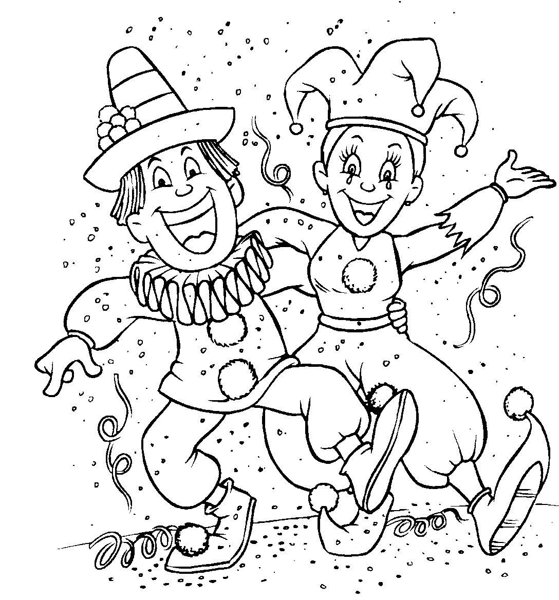Coloriages à imprimer : Carnaval, numéro : 294706