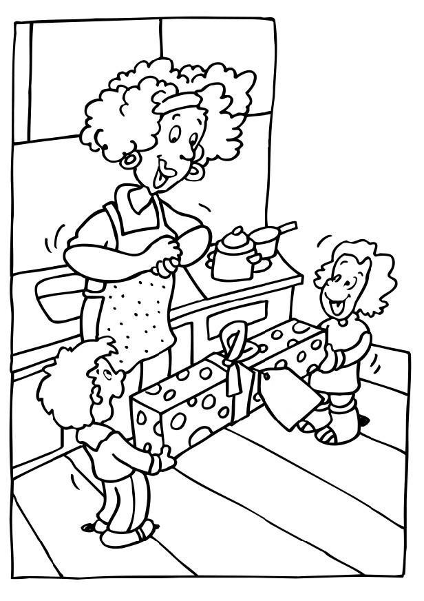 Coloriages à imprimer : Fête des mères, numéro : 237367