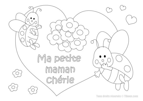 Coloriages à imprimer : Fête des mères, numéro : 307806