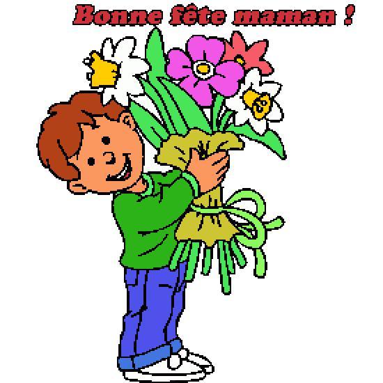 Dessins en couleurs imprimer f te des m res num ro - Dessin de fleur en couleur ...
