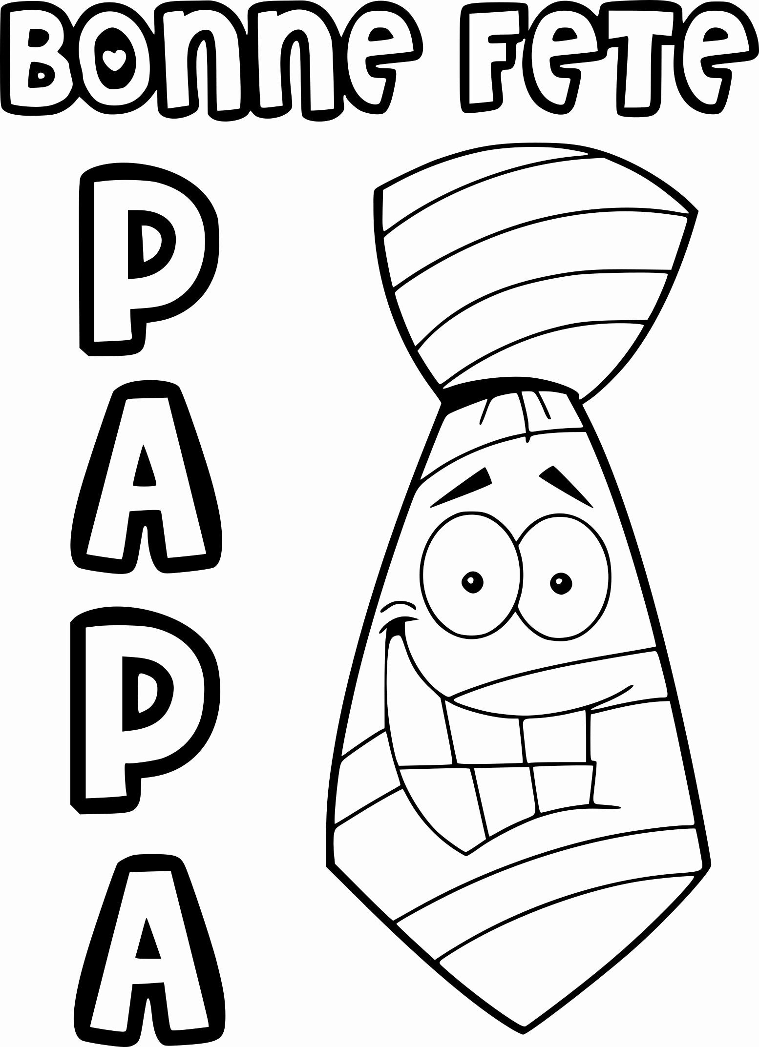 Coloriages à imprimer : Fête des pères, numéro : 2a5e80e2