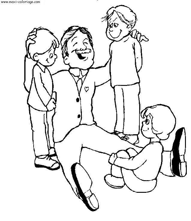 Coloriages à imprimer : Fête des pères, numéro : 58300