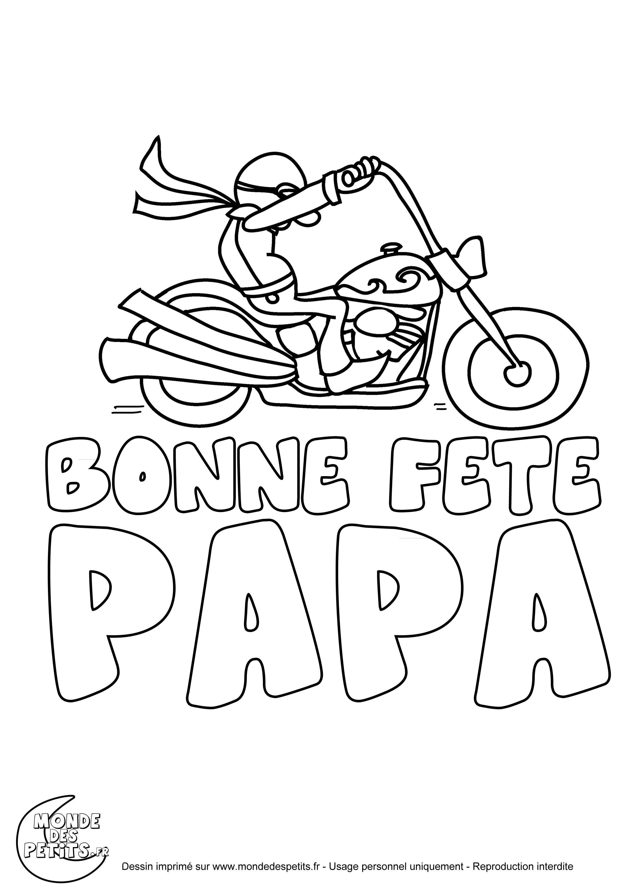 Coloriages à imprimer : Fête des pères, numéro : db5d1441