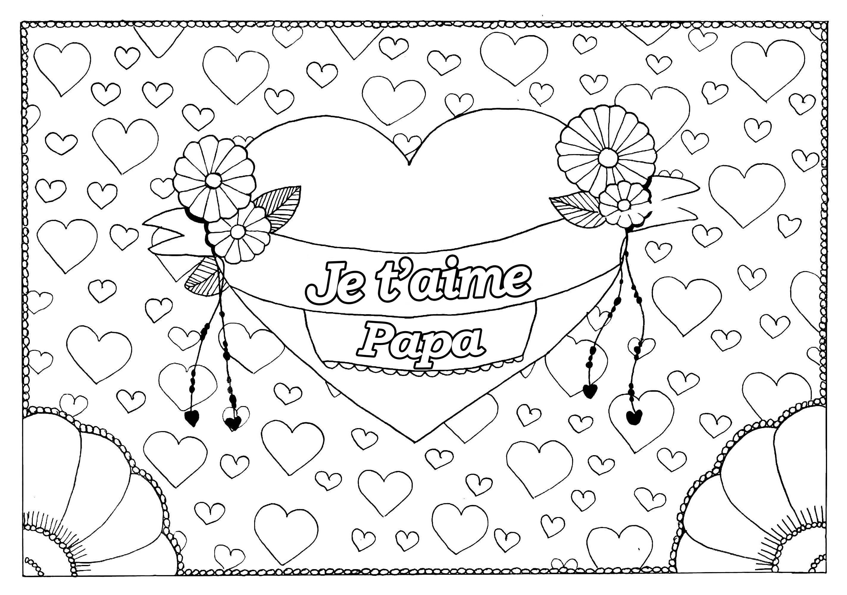 Coloriages à imprimer : Fête des pères, numéro : e8e0b8ee