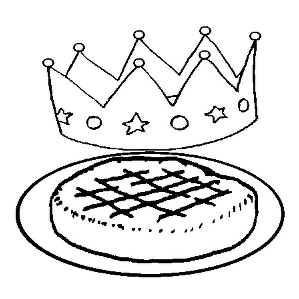 Coloriages à imprimer : Galette des Rois, numéro : 113455