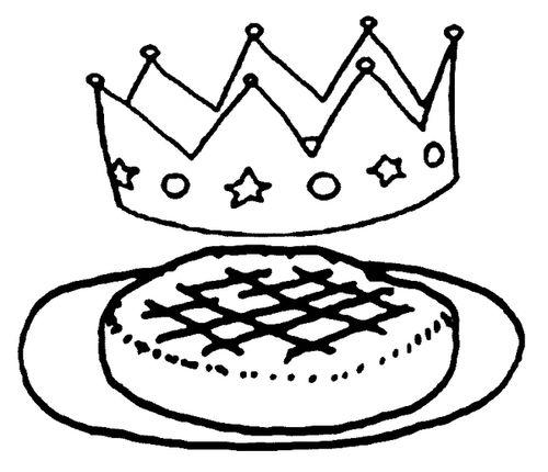 Coloriages imprimer galette des rois num ro 16738 - Coloriage galette ...