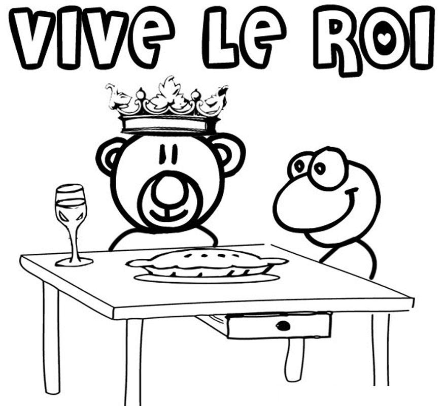 Coloriages imprimer galette des rois num ro 16747 - T choupi aime la galette ...