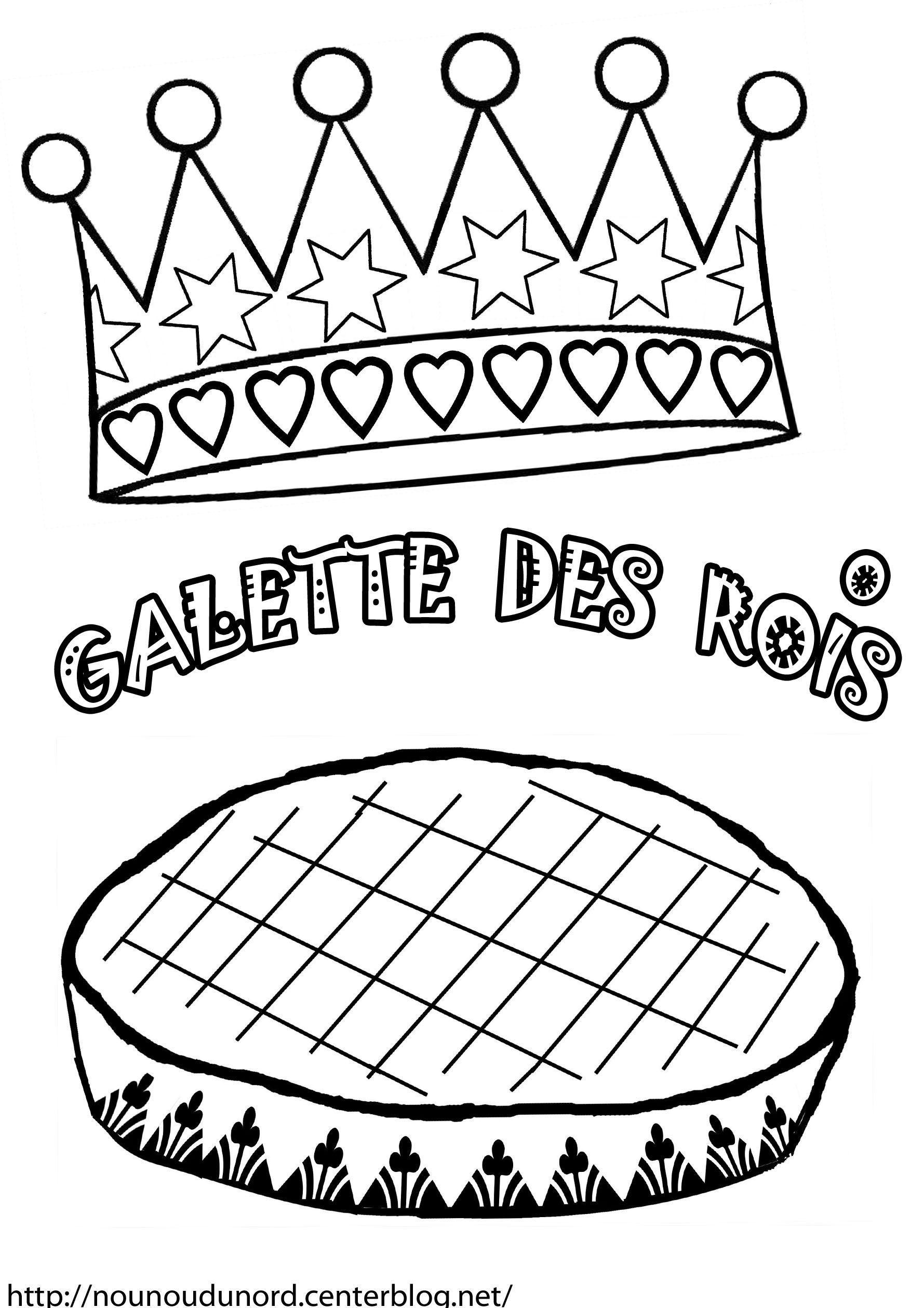 Coloriages à imprimer : Galette des Rois, numéro : 1a27a210